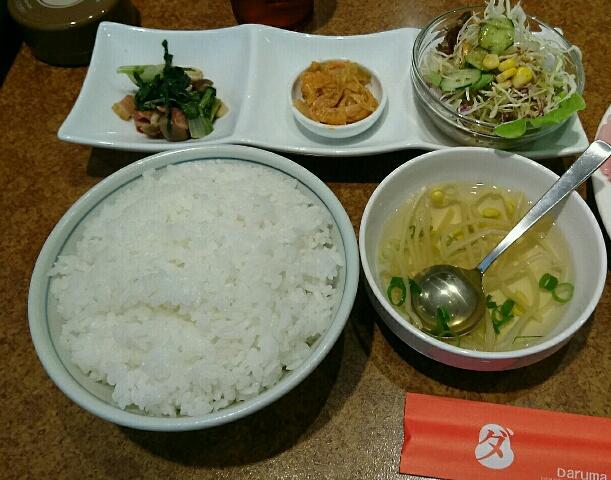 焼肉ダルマ 青江店 焼肉セレクトランチ