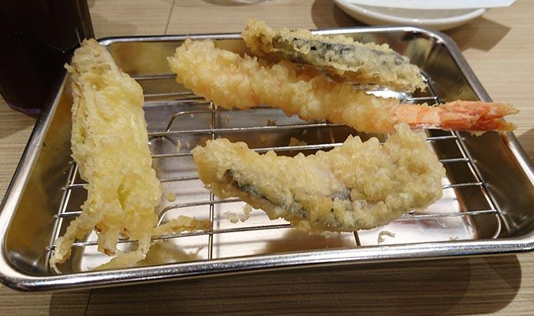 ハレマチ定食 天ぷら
