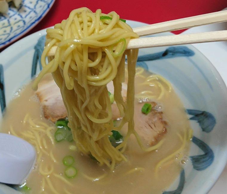 くわん屋ラーメン 麺