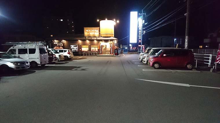 田所商店 岡山庭瀬店 駐車場