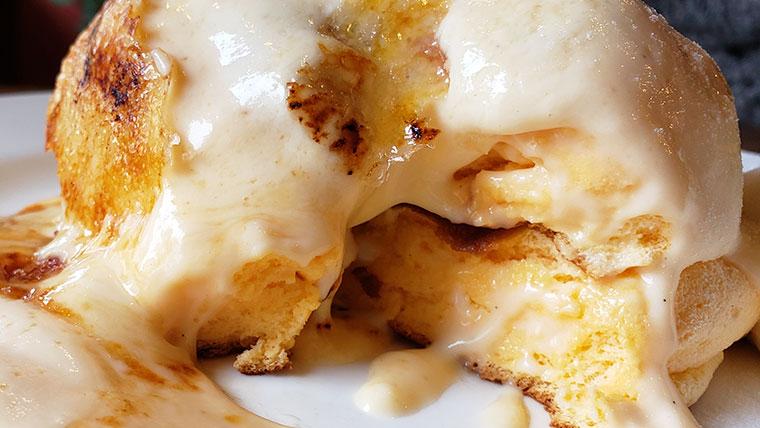 六花園 パンケーキ クリームブリュレ