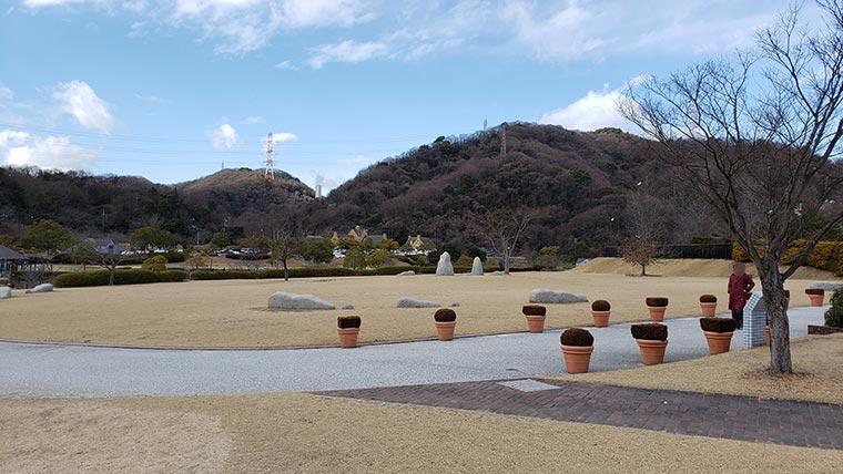 みやま公園 芝生 広場