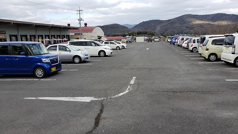 日本一のだがし売り場 駐車場