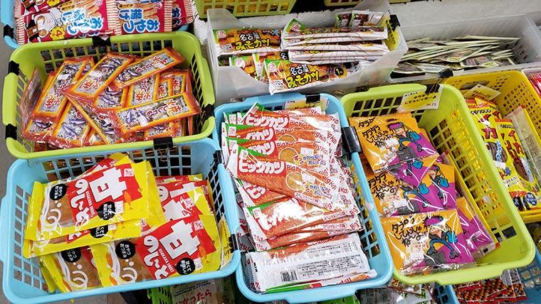 日本一のだがし売り場 駄菓子
