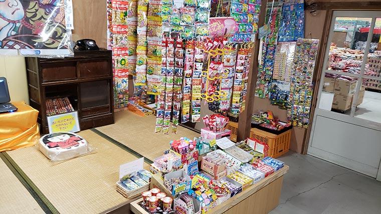 日本一のだがし売り場 シカダ駄菓子