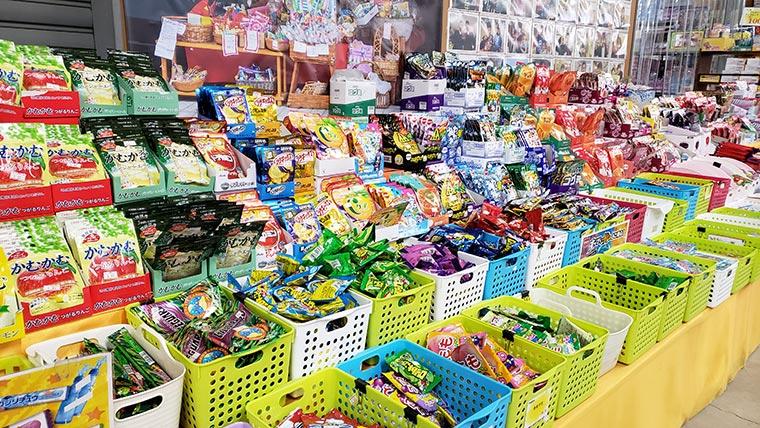 日本一のだがし売り場 飴
