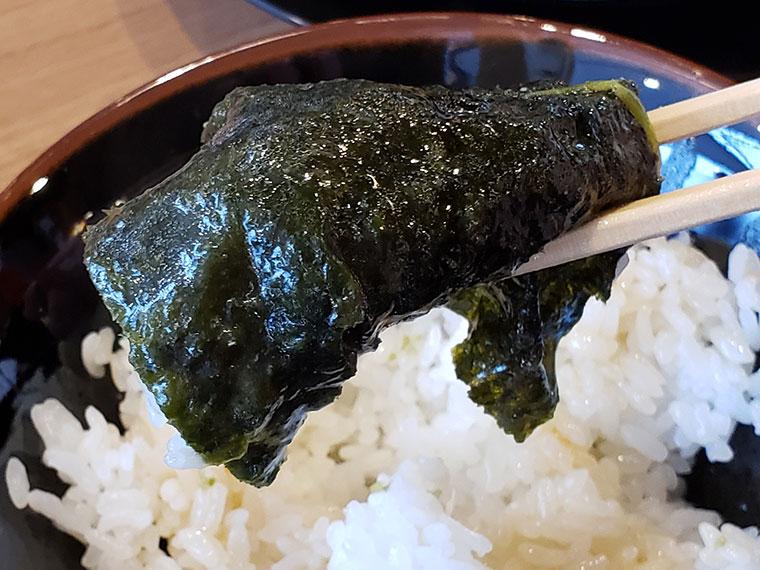 町田商店 岡山平井店 ライス 海苔