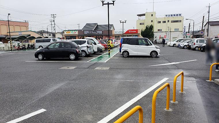 町田商店 岡山平井店 駐車場