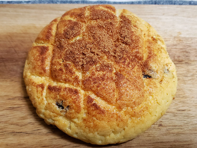 ベーカリーラボコンパン チョコチップメロンパン
