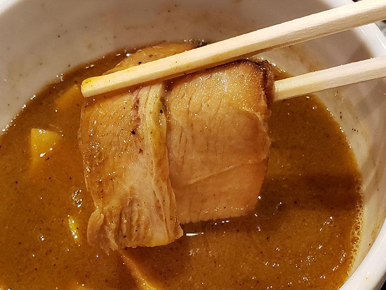 節骨麺たいぞう 岡山店 節骨つけ麺 チャーシュー