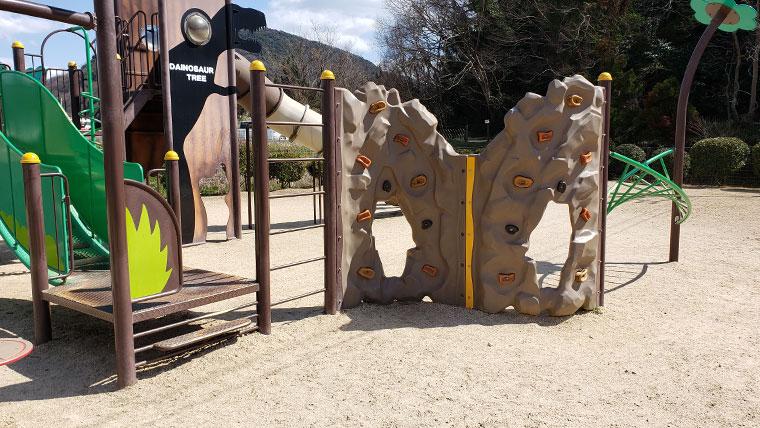 笠岡市 恐竜公園 遊具