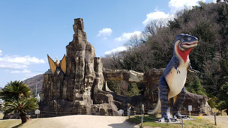 笠岡市 恐竜公園 恐竜