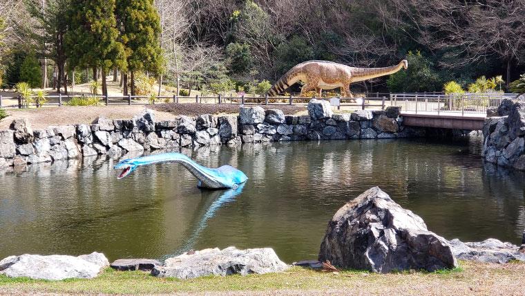 笠岡市 恐竜公園