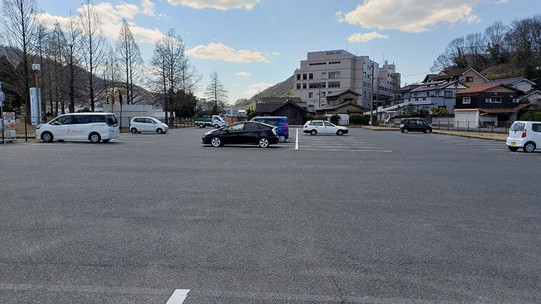 カブトガニ博物館 駐車場