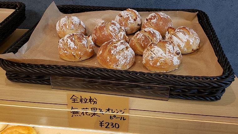 小さなパン屋 こむぎ 店内 パン