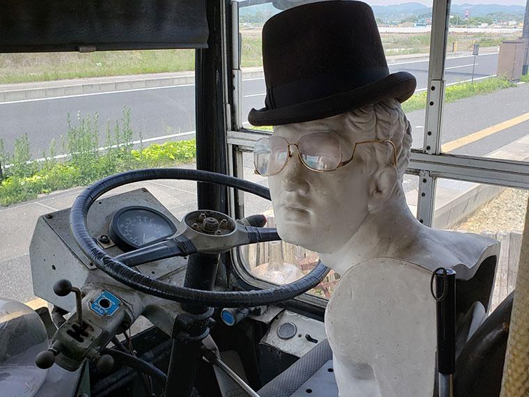 モンタギュー ロンドンバス 運転手の人形
