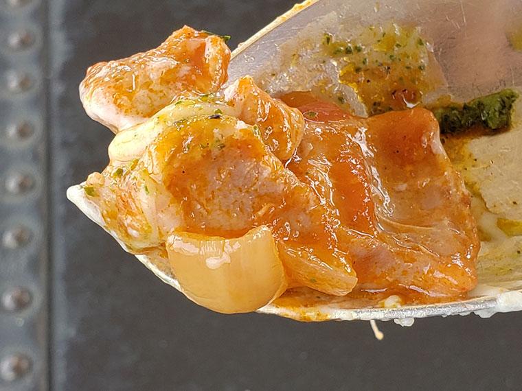 モンタギュー チキンのトマト煮込みのドリア 鶏肉