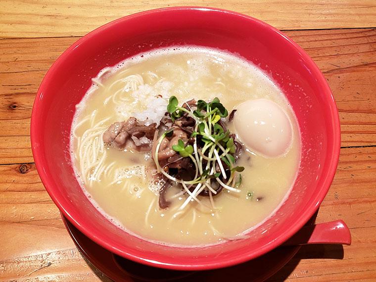 濃厚鶏白湯拉麺 乙 K's柳川店 濃厚鶏白湯拉麺