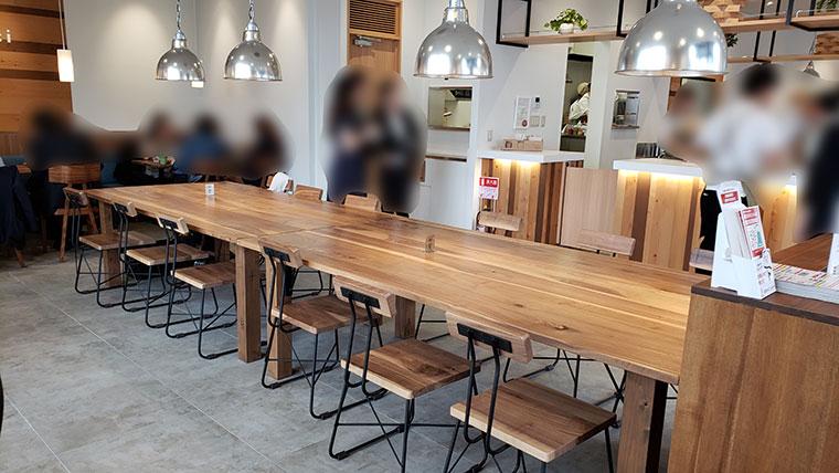 CAFE Tokidoki KOEIDO 店内