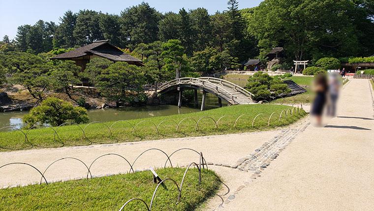 岡山後楽園 景観