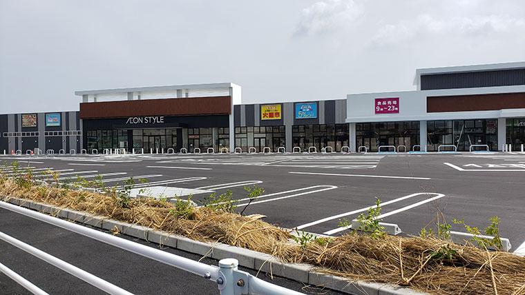 イオンスタイル岡山青江店 店舗 駐車場