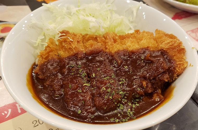 麺屋たくみ 駅前店 デミカツ丼
