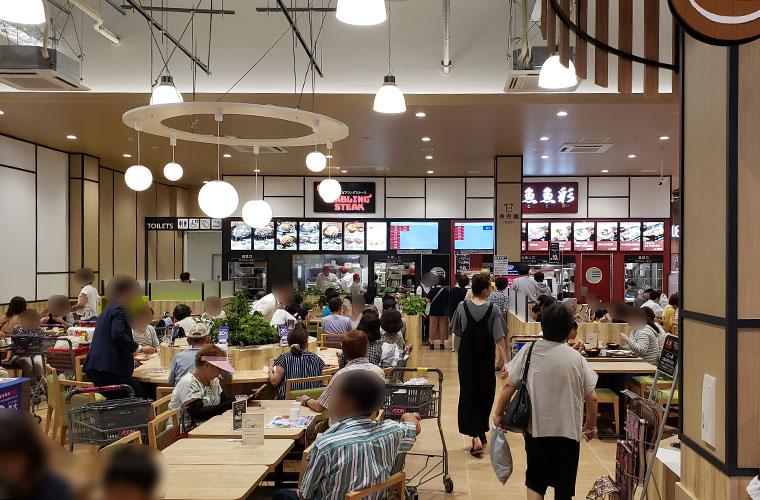 魚魚彩(ととさい )イオンスタイル岡山青江店 外観