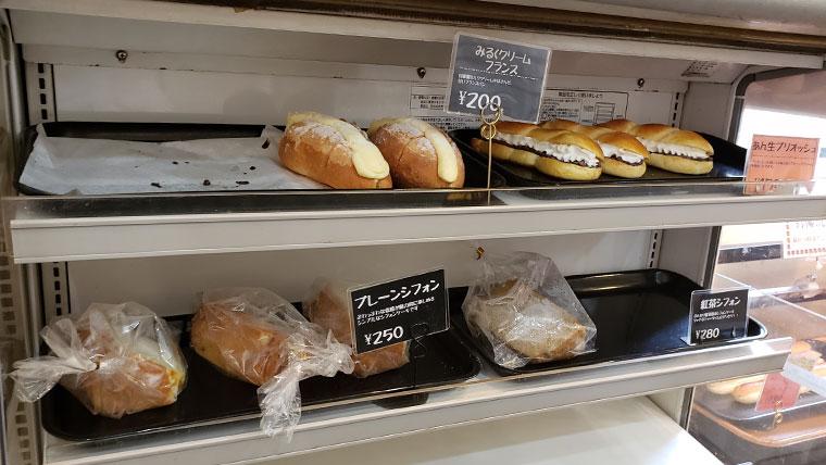 イエスボーノミュージアム 店内 パン