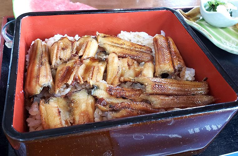 あなご料理 青島食堂 あなご重
