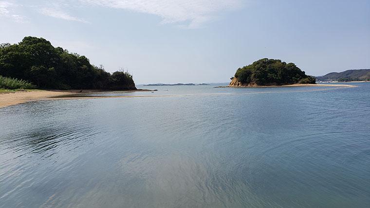 黒島から見たヴィーナスロード