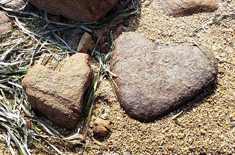 ヴィーナスロード ハートの石