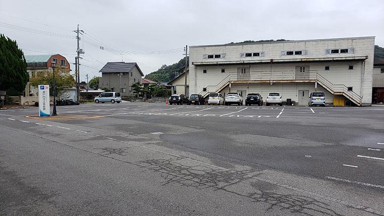 瀬戸内市立美術館 駐車場