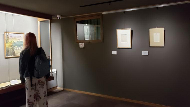 夢二生家記念館 館内 展示室