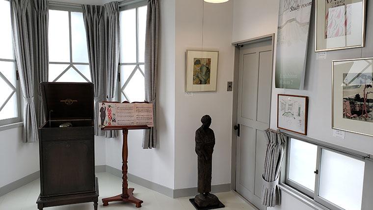 少年山荘 館内 展示室