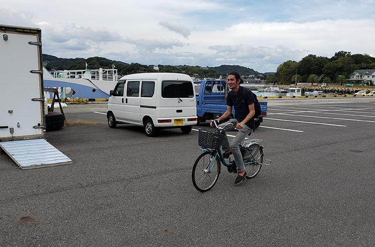 前島 レンタルサイクル 電動自転車