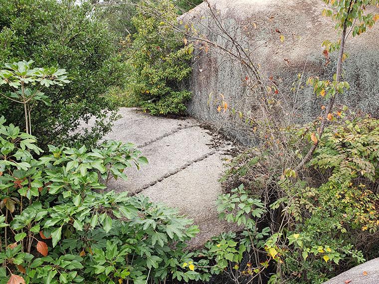 前島 残石群
