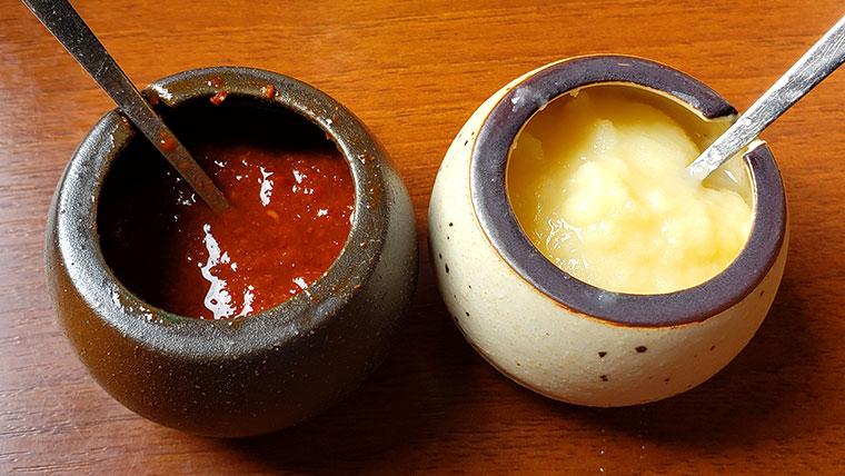 焼肉おふく ニンニク 辛味噌