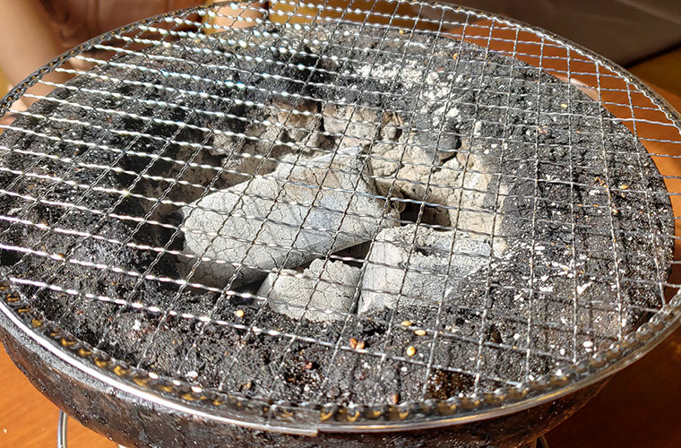 焼肉おふく 七輪
