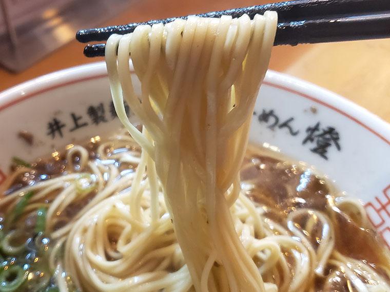 尾道らーめん 燈 尾道ラーメン 麺