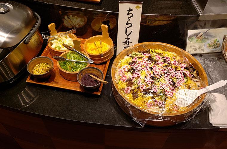 しゃぶしゃぶ美山 ご飯 ちらし寿司