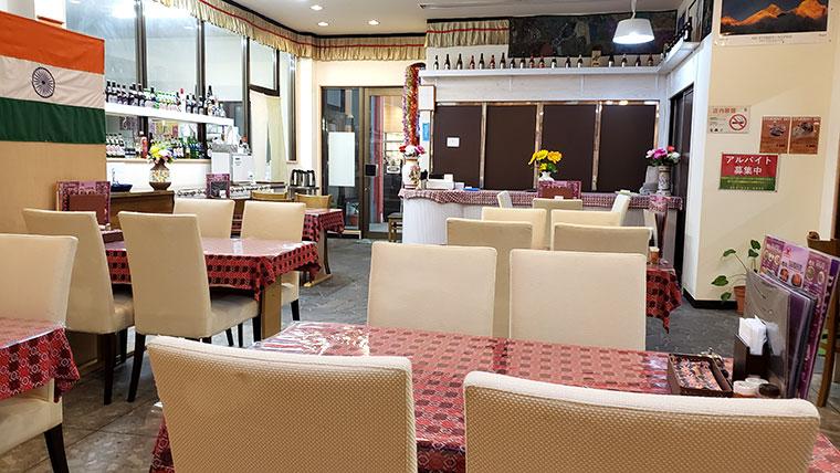 インディアン&ネパールレストラン ガリマ 店内