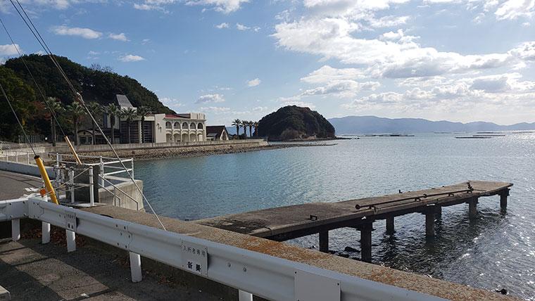長島 桟橋
