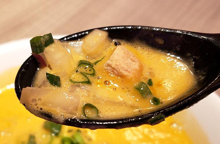 麺屋はやぶさ 岡山店 オマール海老湯
