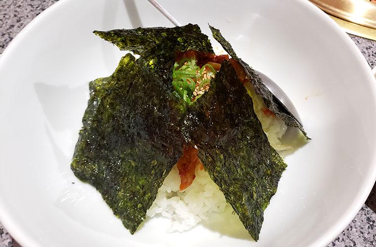 焼肉大幸 柳町店 チャンジャ丼