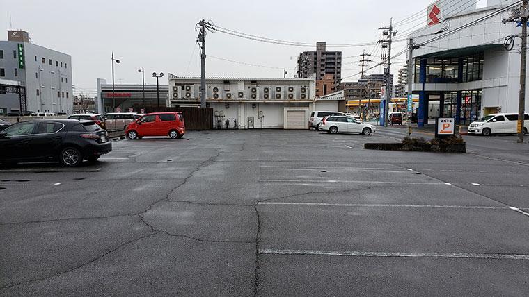 函館市場 岡山新屋敷店 駐車場