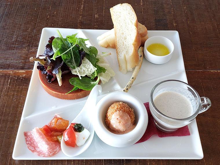 ロッサ カフェ&レストラン ランチ 前菜