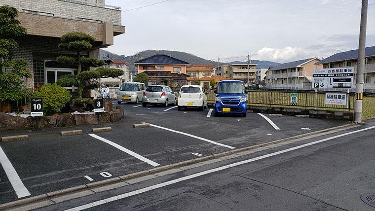 エルグレコ 駐車場