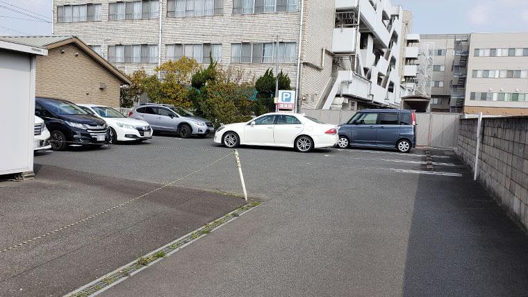 ラーメンハウス喜楽園 駐車場