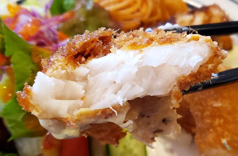 洋食ひなた 魚フライ
