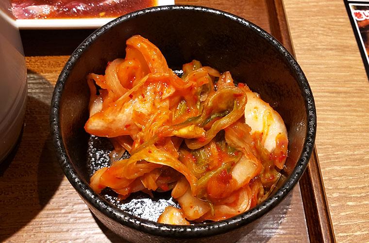 焼肉ライク 岡山店 キムチ